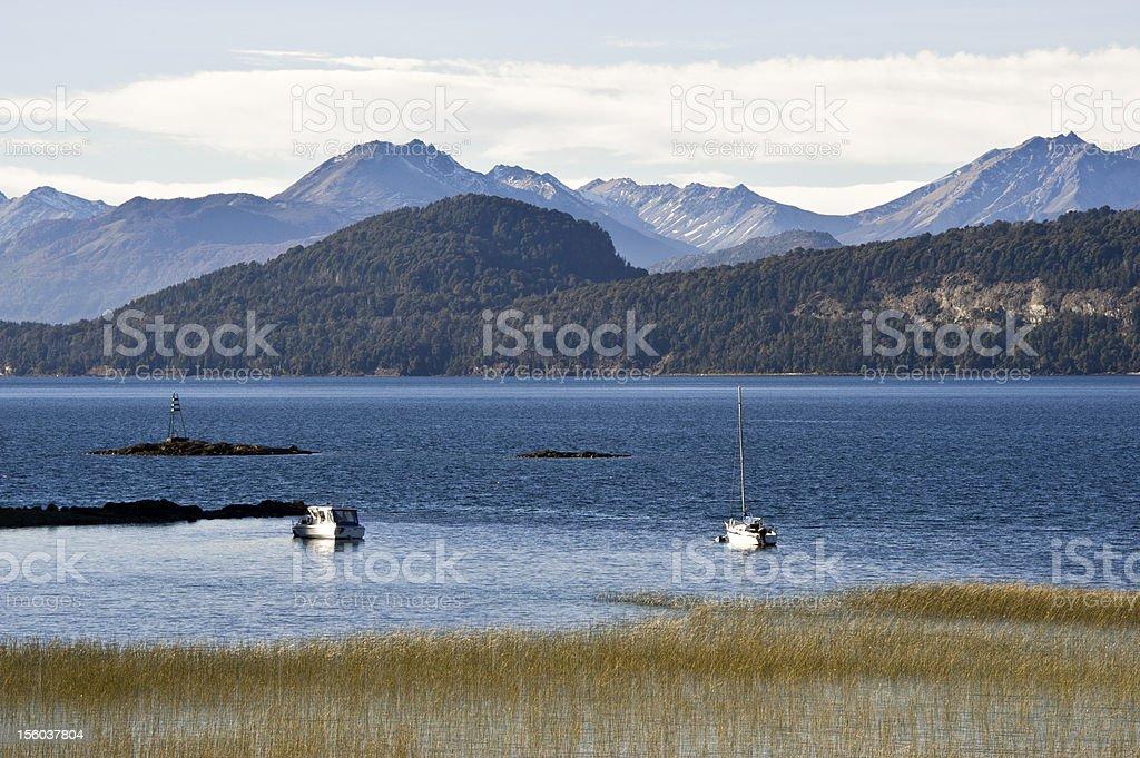 Nahuel Huapi near Bariloche, Patagonia, lake region of  Argentina stock photo
