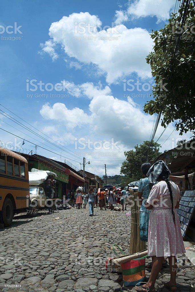 Nahuizalco, El Salvador royalty-free stock photo