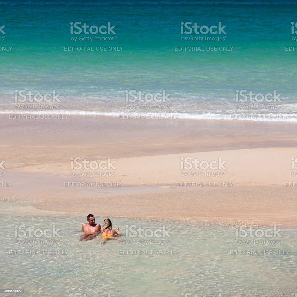 Nai Harn Beach, Phuket, Thailand. stock photo