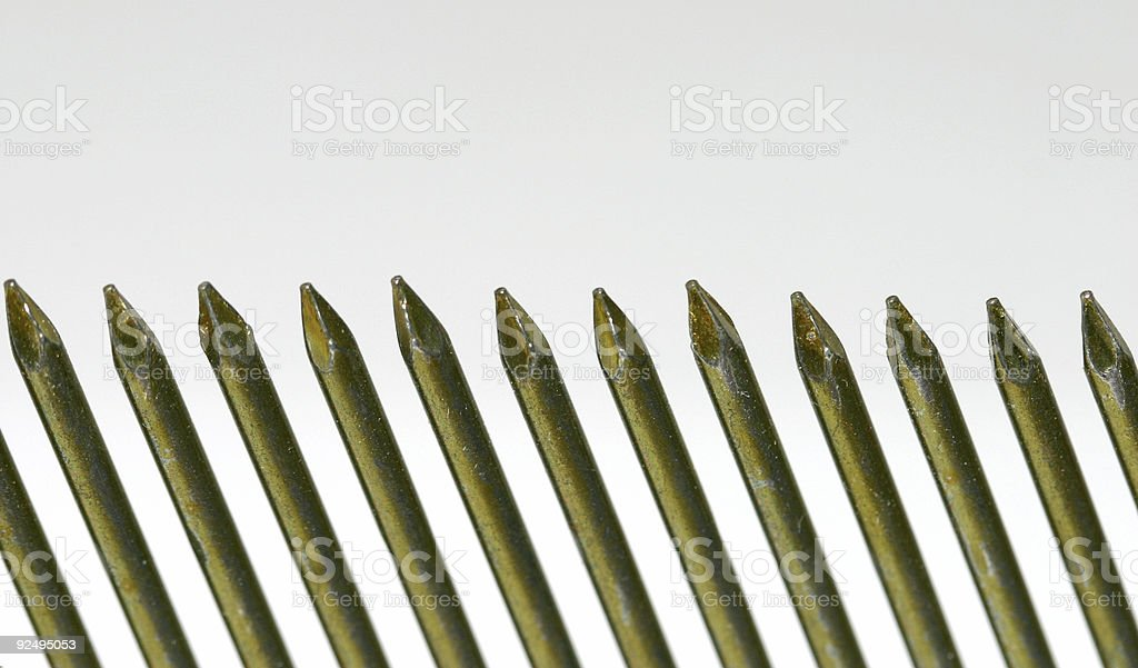 nail border stock photo