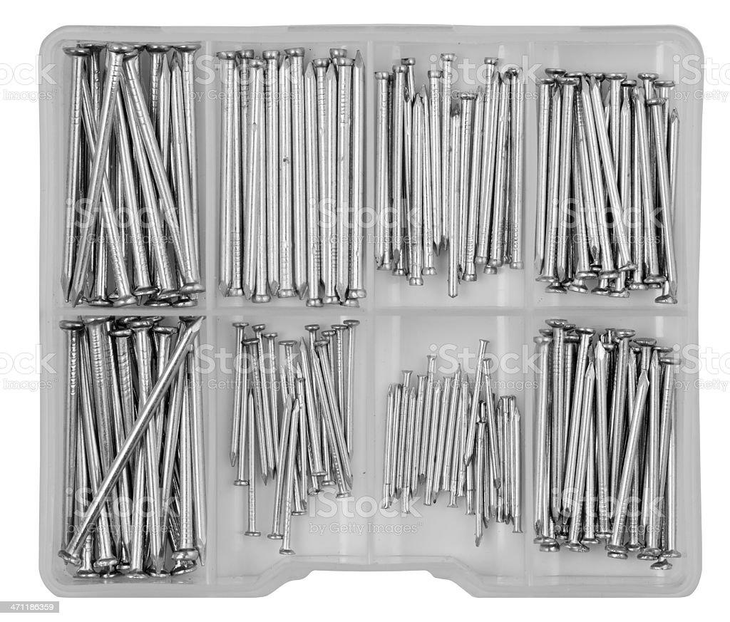 Nail box royalty-free stock photo