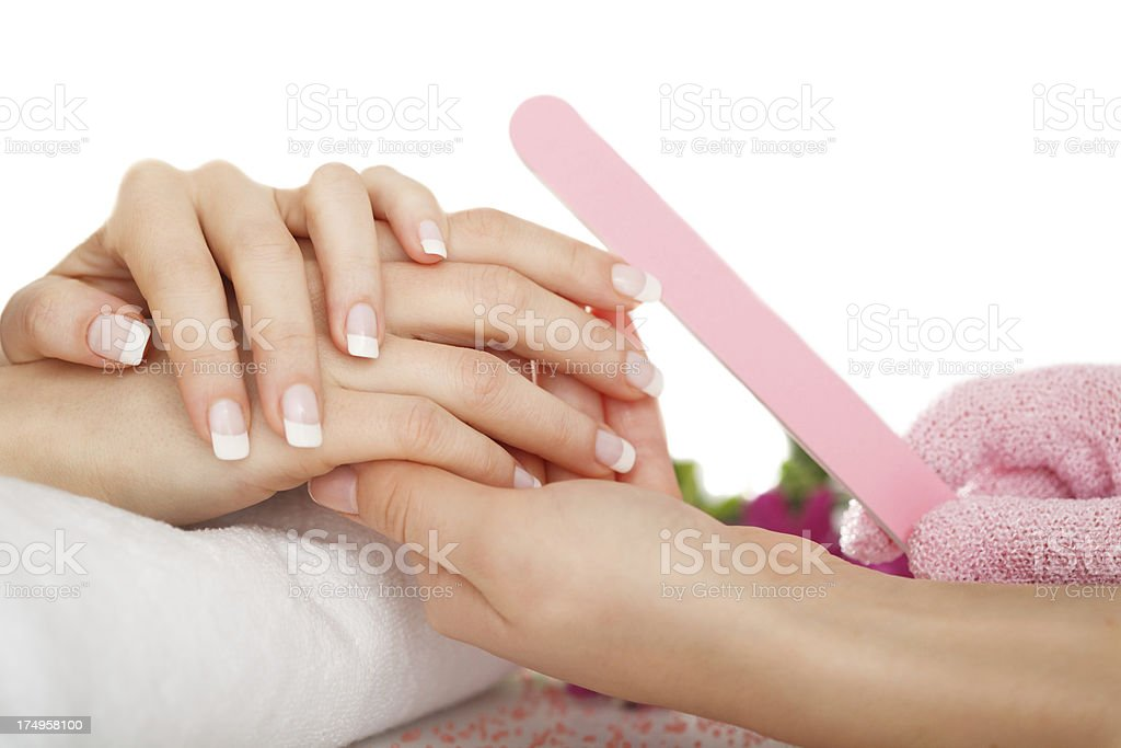 Nail care royalty-free stock photo