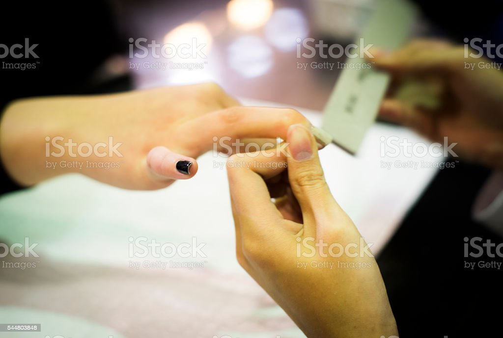 Nail cosmetics royalty-free stock photo