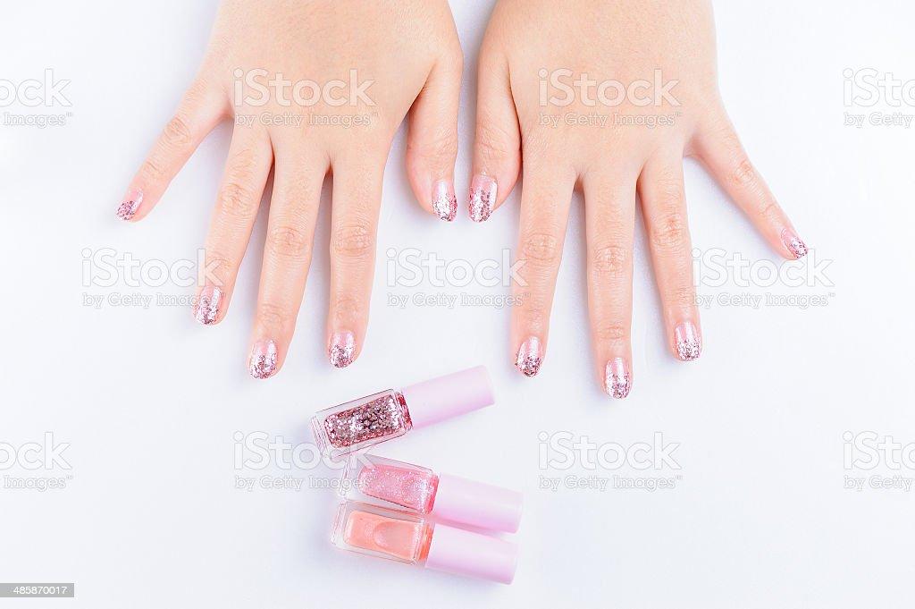 nail paint royalty-free stock photo