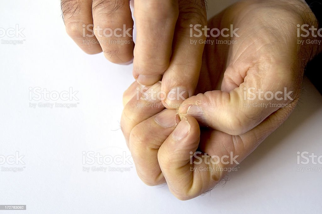 Nail picker royalty-free stock photo