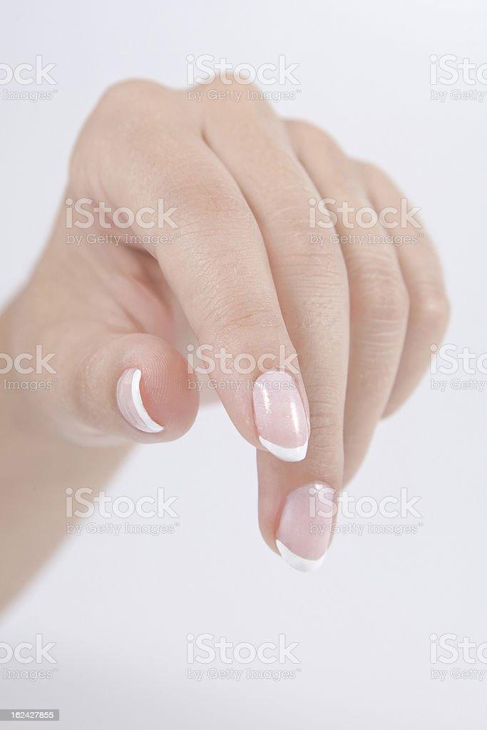 nail royalty-free stock photo