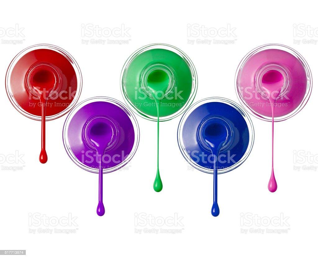 nail polish beauty make up stock photo