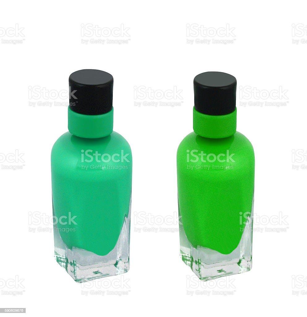 nail polish bottle stock photo