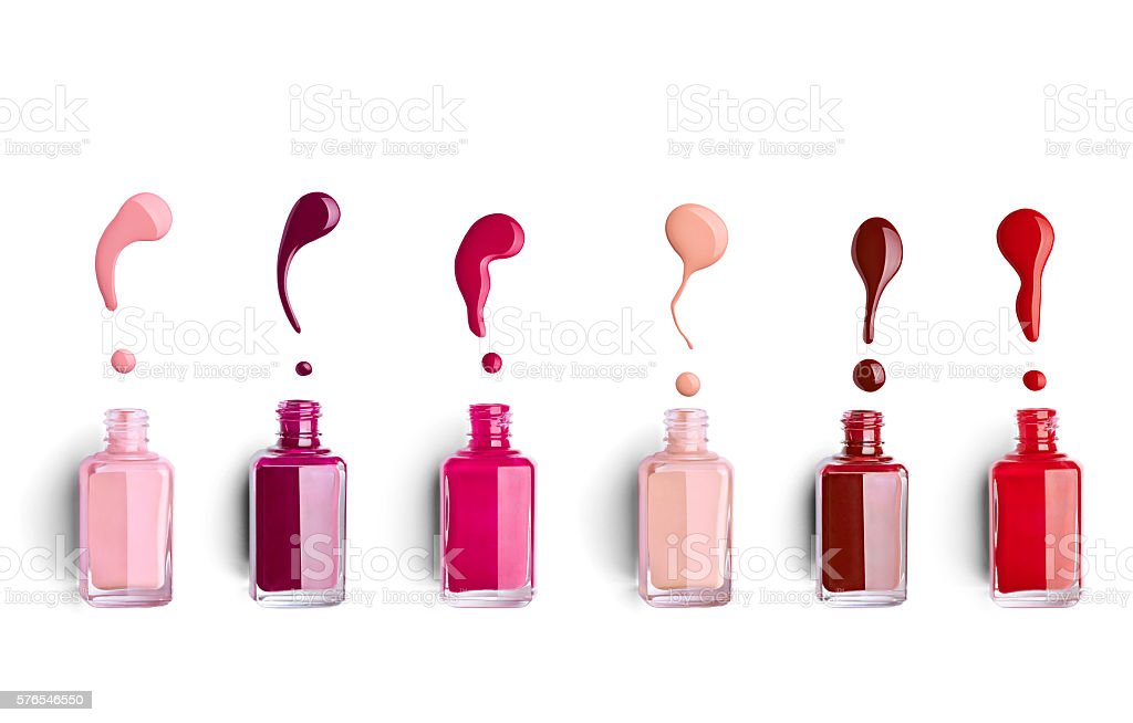 nail polish finger make up beauty cosmetic stock photo