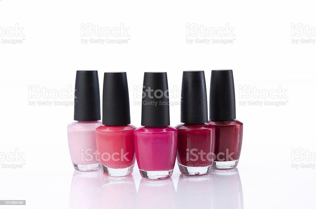 Nail Polish Grouping stock photo