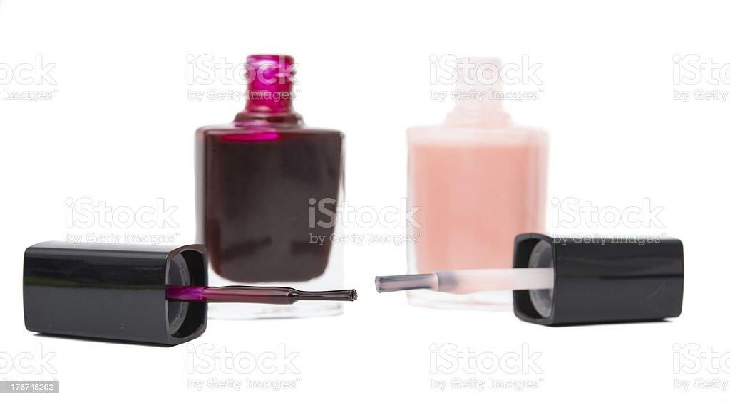 nail polish isolated royalty-free stock photo