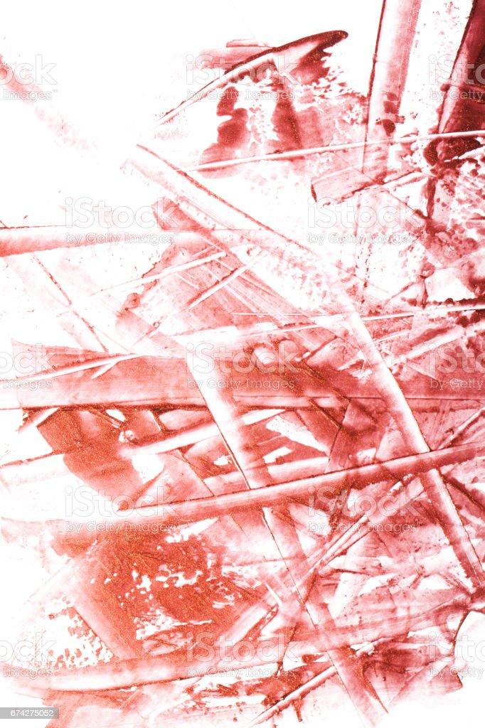 Nail polish on a white background. stock photo