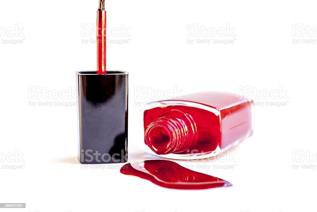 nail polish royalty-free stock photo