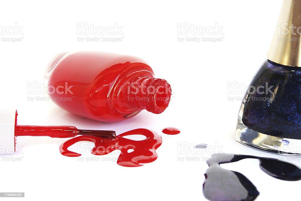 Nail polishes royalty-free stock photo