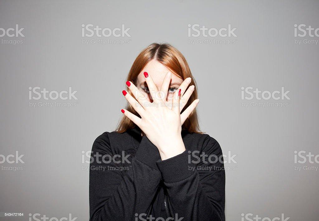 Nailpolish stock photo