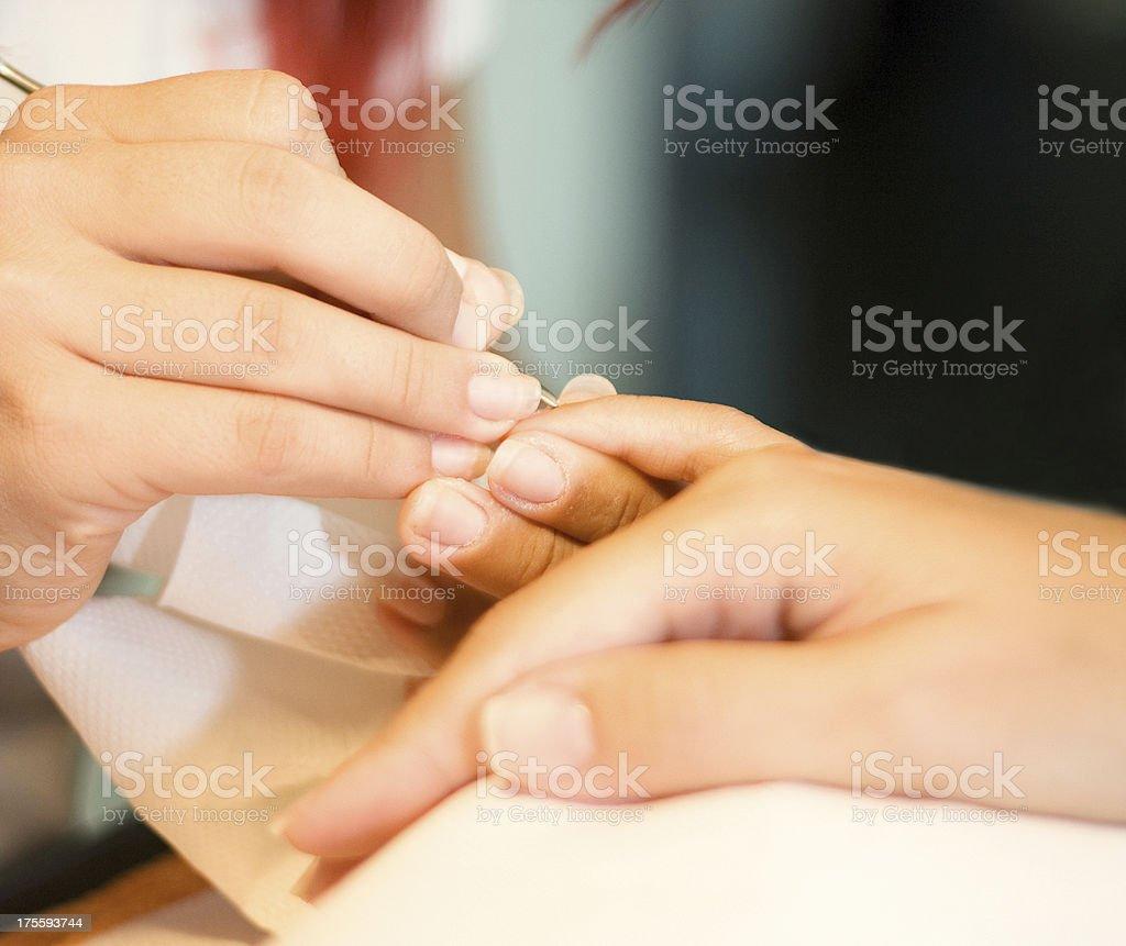 Nails care royalty-free stock photo