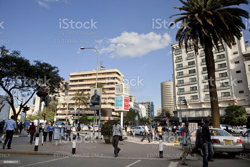 Nairobi Kenya stock photo