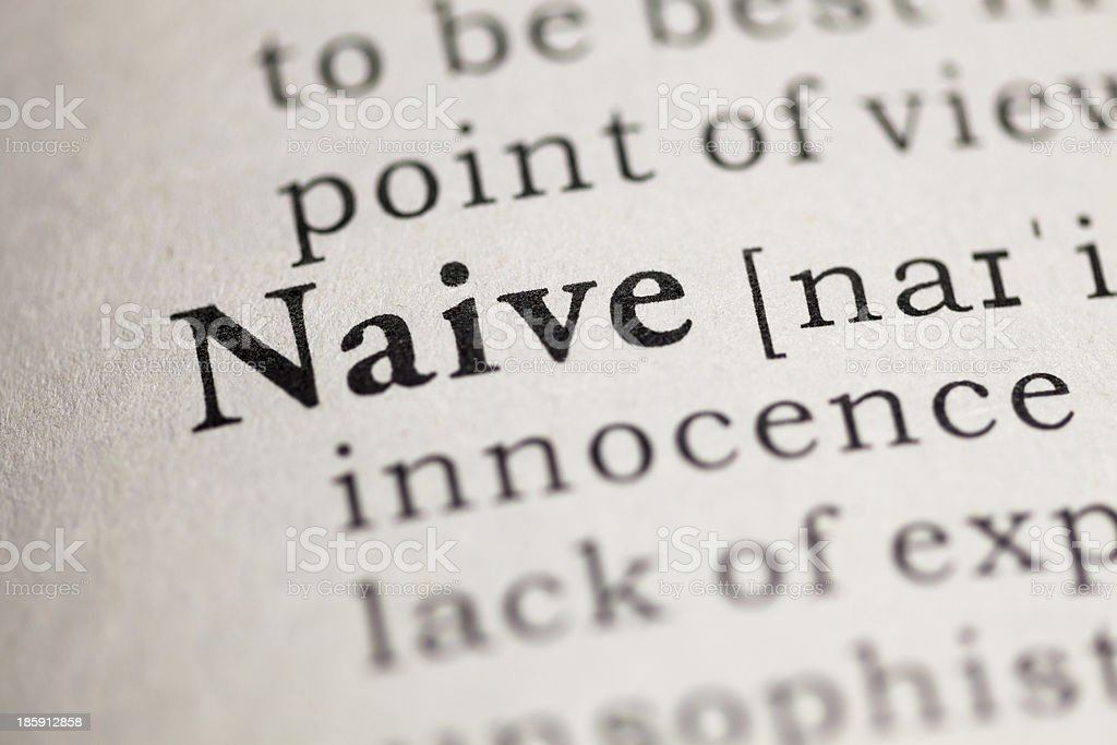 Naive royalty-free stock photo