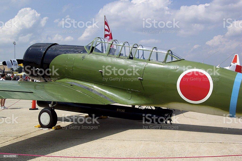 Nakajima Torpedo Bomber Replica royalty-free stock photo