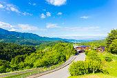 Nakasendo Magome Overlooking Kiso Valley Japan