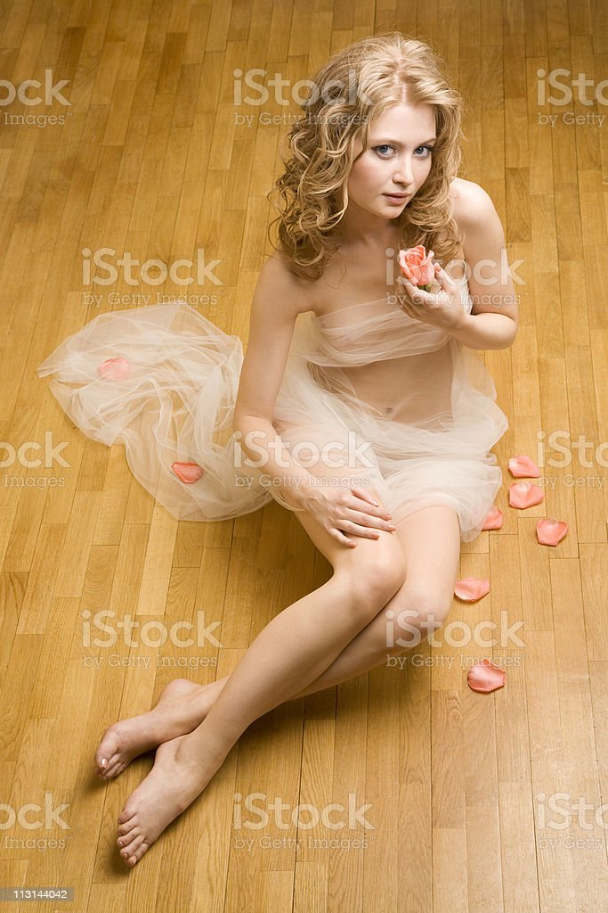 Naked beauty royalty-free stock photo