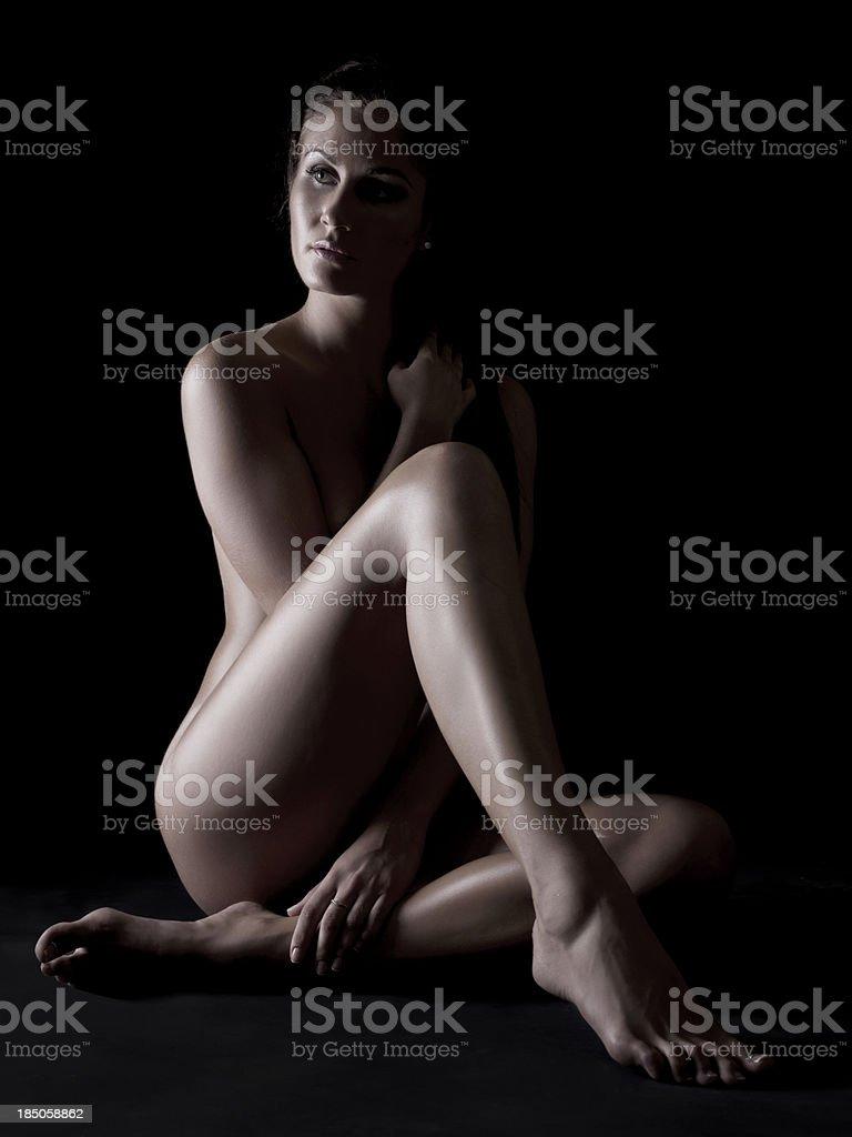 Naked beauty stock photo