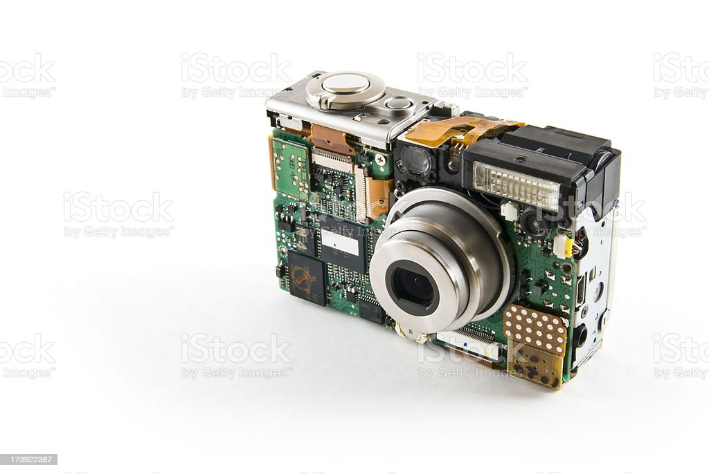 Naked Camera royalty-free stock photo