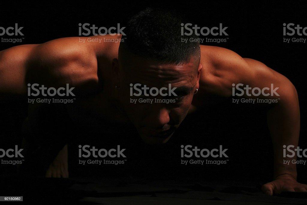 Naked Guy royalty-free stock photo
