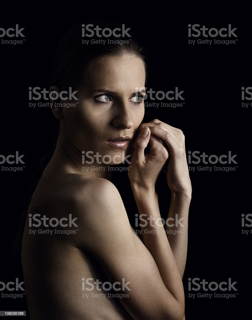 naked lady royalty-free stock photo