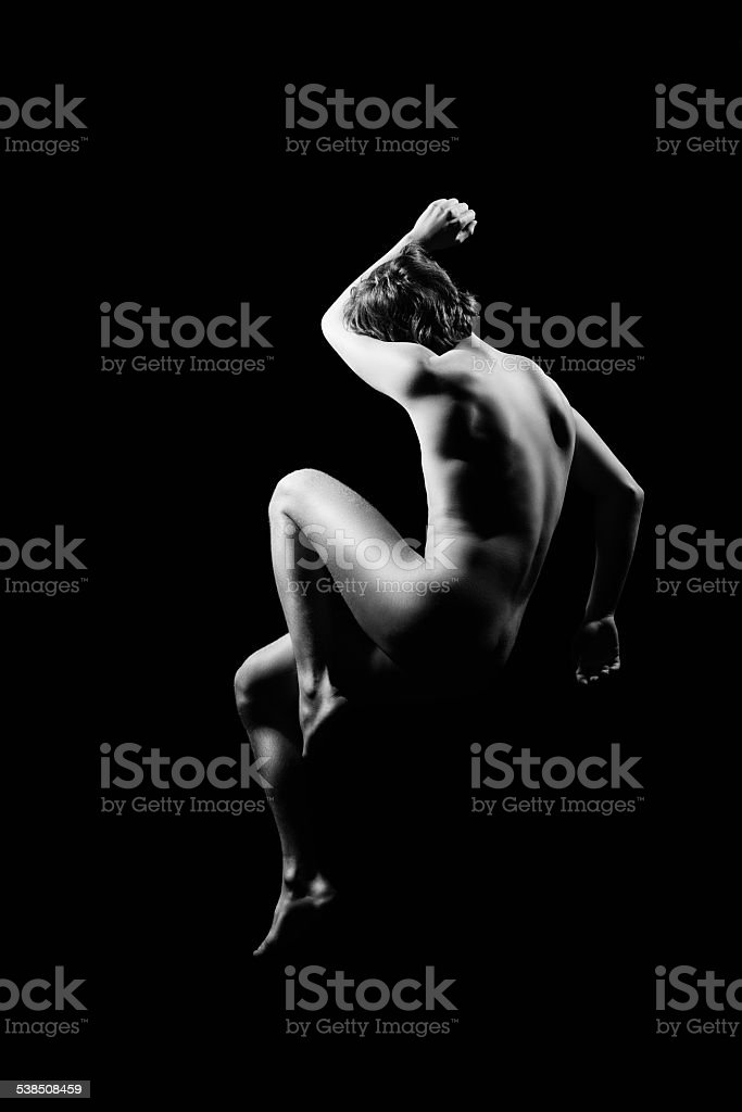 Naked man royalty-free stock photo