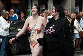naked on pride parade stockholm sweden