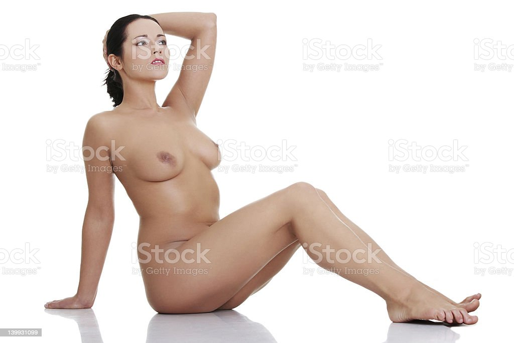 Naked woman royalty-free stock photo