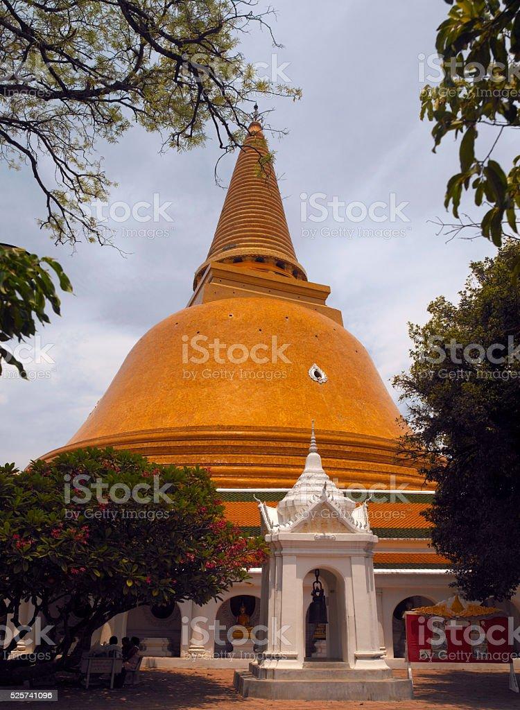 Nakhon Pathom Stupa - Thailand stock photo