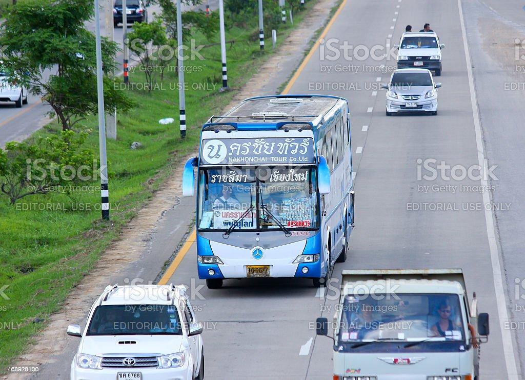 Nakhonchai tour company stock photo