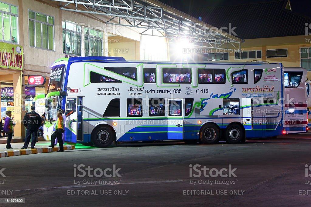 Nakhonchai tour company. stock photo
