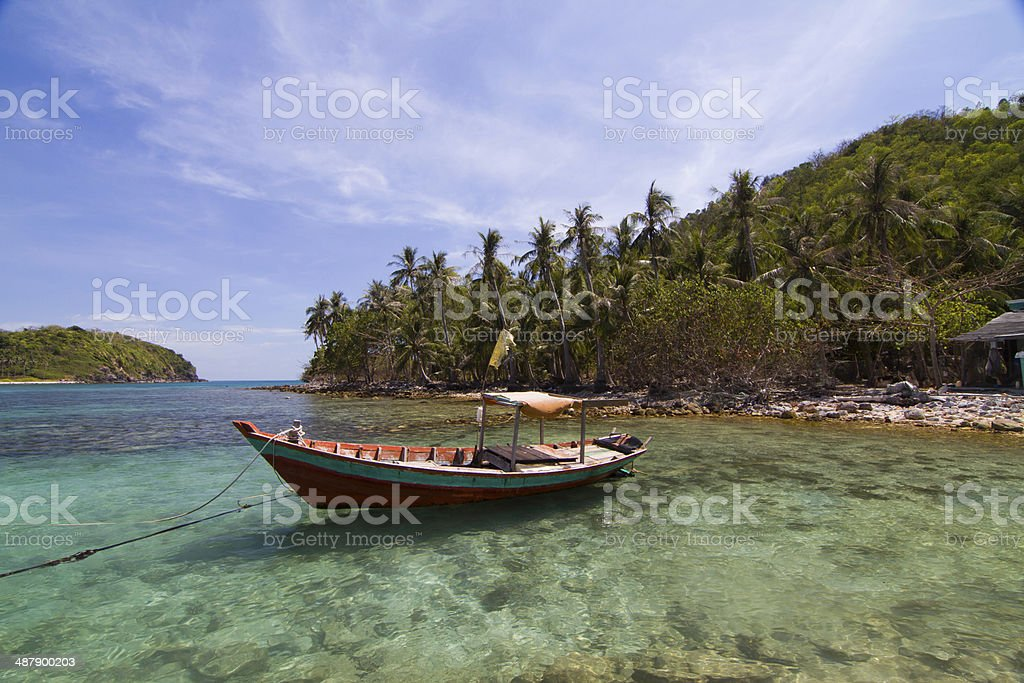 Nam Du islands, Kien Giang province, Vietnam royalty-free stock photo