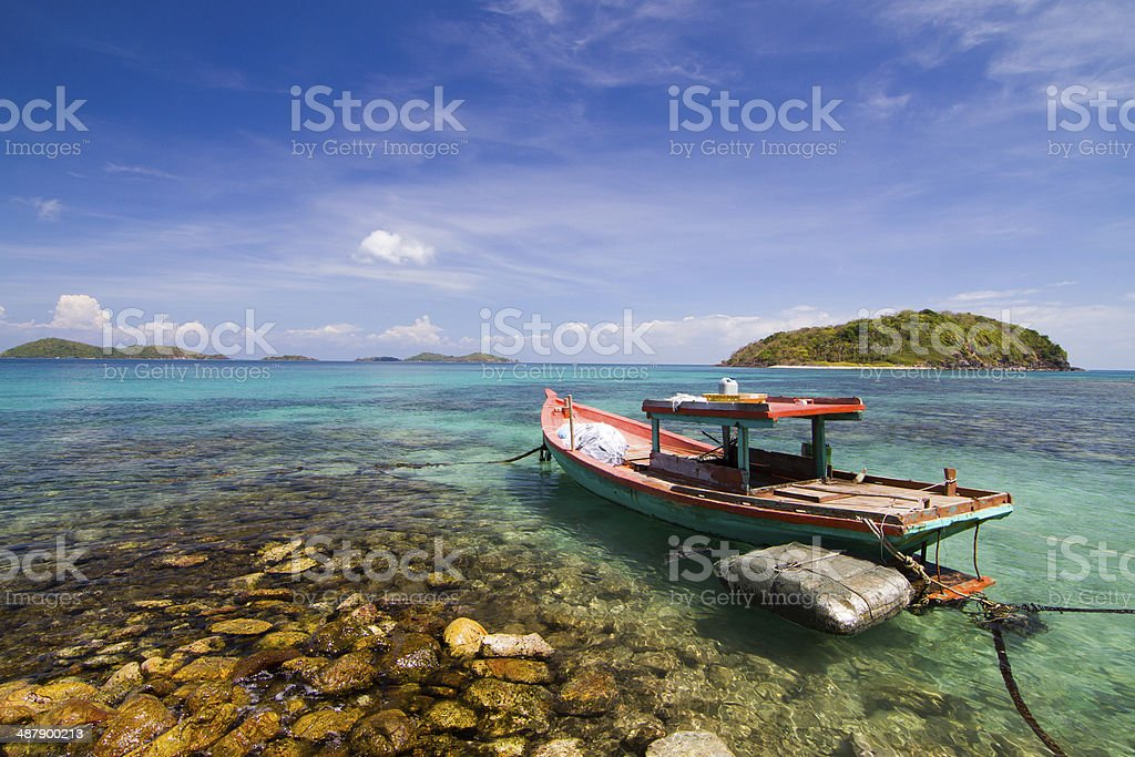Nam Du islands, Kien Giang province, Vietnam royalty-free stock photo