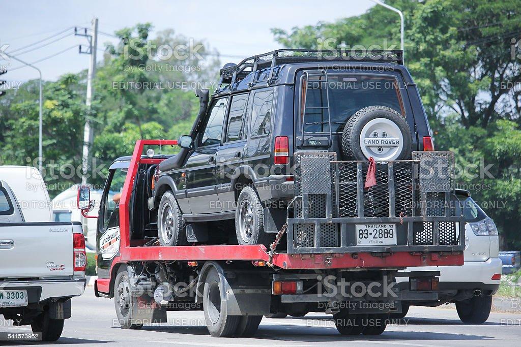 Nam Jaruen Tow truck stock photo