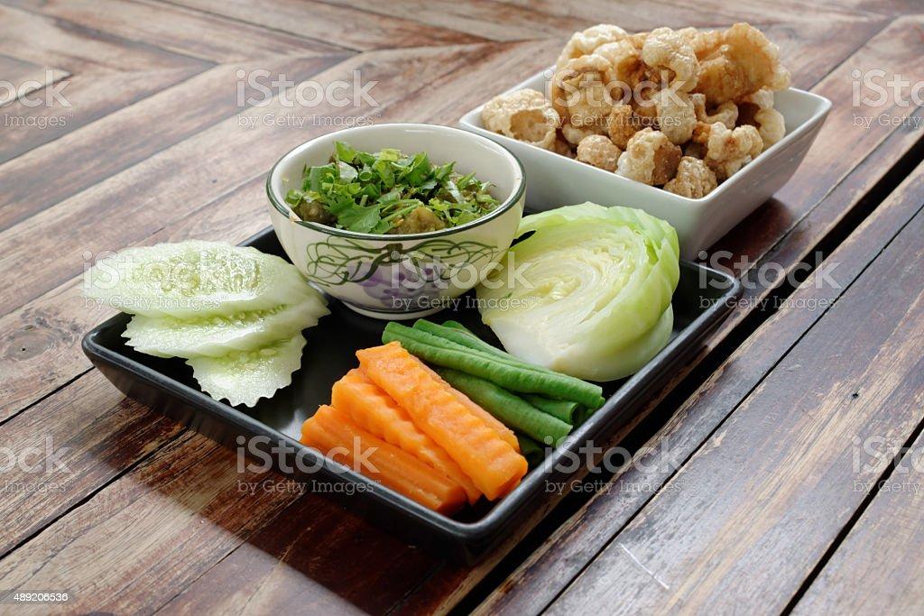 Nam Prik Noom stock photo