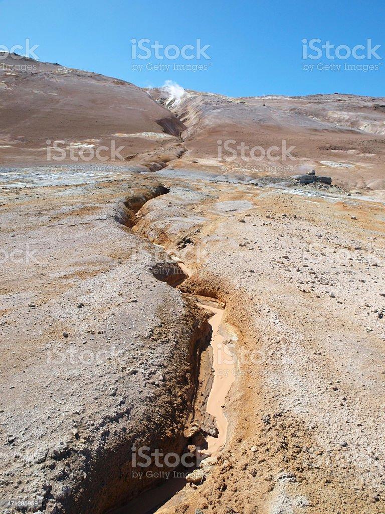 Namaskarth (Iceland) royalty-free stock photo