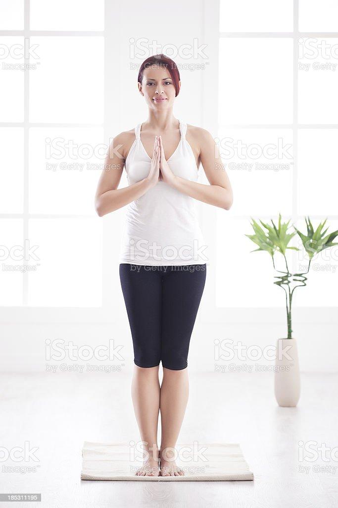 Namaste royalty-free stock photo
