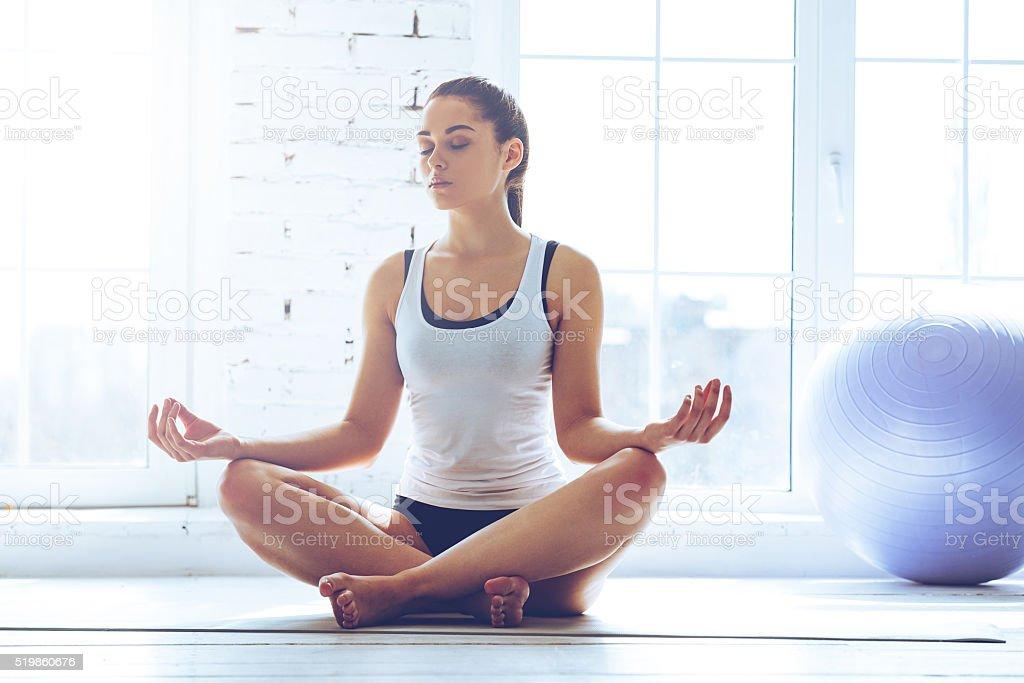 Namaste! stock photo