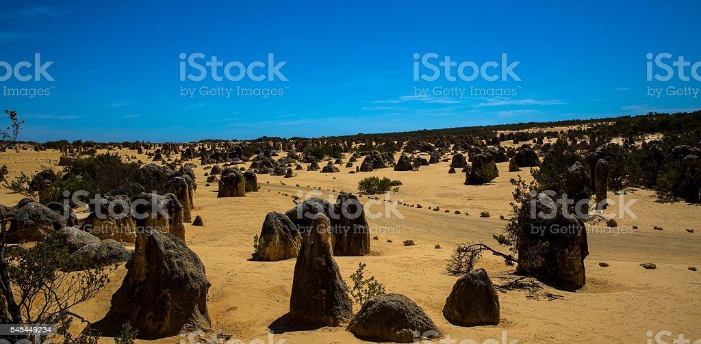 Nambung National Park stock photo