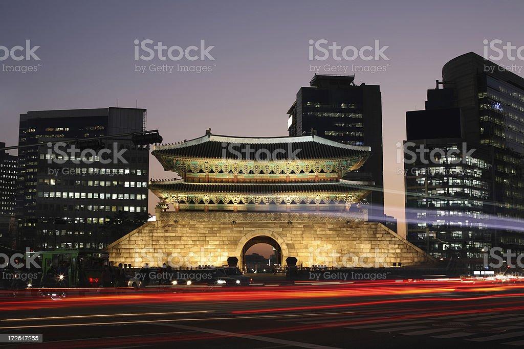 Namdaemun Gate stock photo