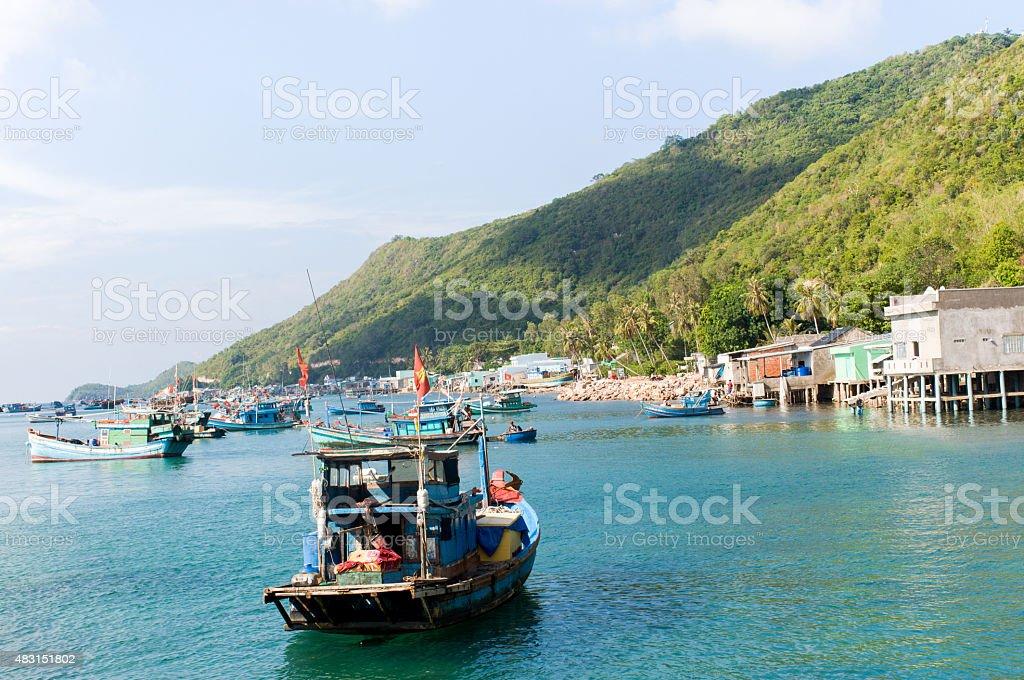 Namdu Island, Vietnam stock photo