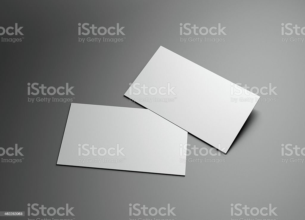 namecard frame promotion stock photo