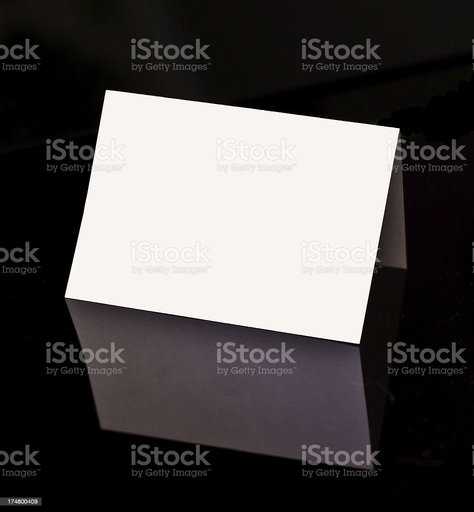 Namecard stock photo