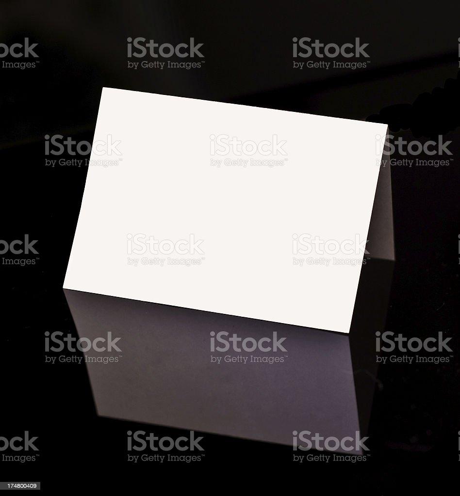 Namecard stock photo