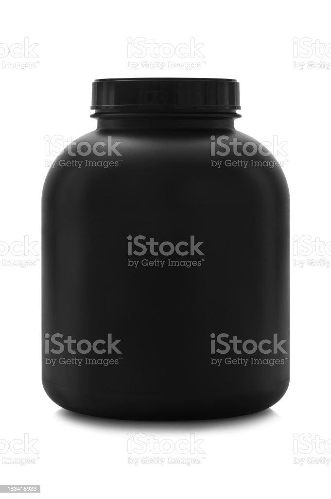 Nameless Black Canister stock photo