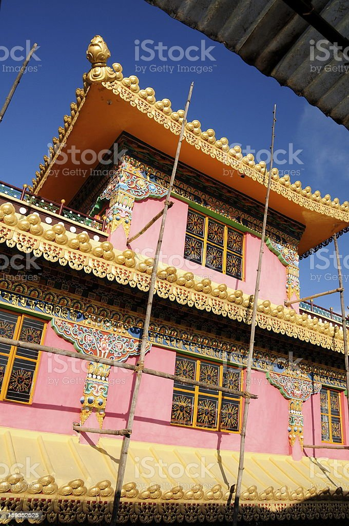 Namgyaima  Stupa temple,McLeodganj,Dharamsala,Himachal Pradesh,India. royalty-free stock photo
